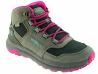 Girls Kids Merrell Ontario Mid 85 Waterproof Hiking Walking Ankle Boots Shoes