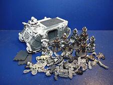 Rhino + 10 táctico de los marines Dark Angels