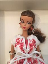 SilkStone Fashion Model Collection Palm Beach Coral Barbie Doll NRFB Tissued