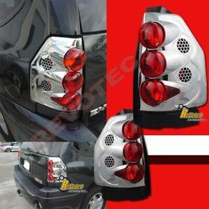 02-09 GMC Envoy 02-06 Envoy XL Chrome Tail Lights Lamps 1 Pair