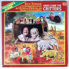 Ken Turner and Donna Douglas - Here Come the Critters (1982) [SEALED] Vinyl LP