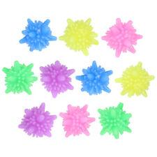 OUNONA 10pcs Plastic Washing Balls Laundry Balls for Rinsing Stain Removal