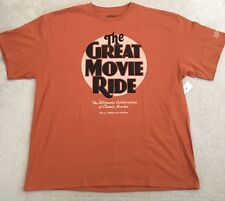 New Cast Exclusive Disney Hollywood Studios Great Movie Ride T Shirt Xxl