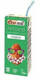 Almond drink sweetend with agave syrup BIO 200 ml Ecomil