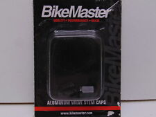 BikeMaster Aluminum Valve Caps Black