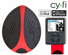 Cy Fi Wireless Sports Speaker -Black/Red