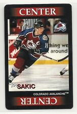 1996 Ultimate Line-Up - Team Out! - Hockey Game - Joe Sakic - Avalanche