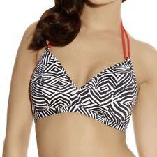 Freya Swimwear Zulu Soft Triangle Bikini Top Zebra Print 3624