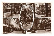 The Pantiles - Tunbridge Wells Photo Postcard 1940s