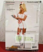 Halloween Costumes Dress-up Women's Really Naughty Nurse Adult Costume XL