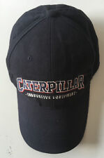 Caterpillar Innovative Equipment Black Buckle Strapback Adjustable Cap