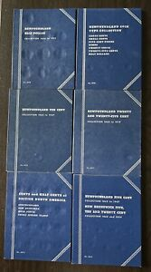 6 Canada Provincial Whitman Folders #9088 9078 9077 9076 9075 & 9074 NOS