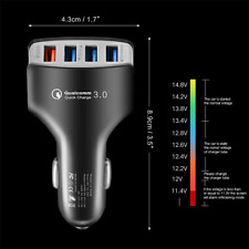 Genuine Fast 3.0 Type C USB-C Car Charger Charging  For Huawei P30 P20 Pro