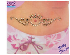 Bindi bijou de peau strass tatoo pour nombril Inde mariage oriental B515