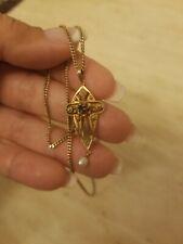 Antique 10k Necklace Pendant Lavalier