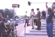 Jaclyn Smith Jackie-O movie behind the scene 35mm slide transparency IM1072