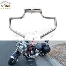 Motorcycle Engine Guard Highway Crash Bar For Harley  FLSTF Fat Boy 2000 - 2014