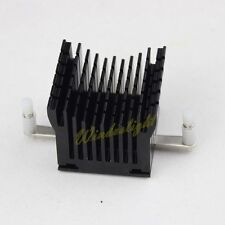 Black Aluminum Chipset Northbridge Heatsink CPU DDR Heatpipe Memory Cooling