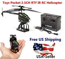 Toys Pocket 2.5CH RTF IR RC Helicopter - MPN: ZX-S125 - Brand NEW