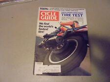 SEPTEMBER 1982 CYCLE GUIDE MAGAZINE,YAMAHA XJ650LJ,SUZUKI PE175,KAWA KDX175,SECA