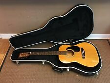 D'AGOSTINO D-50 Acoustic Guitar Right Handed 6 String with Case