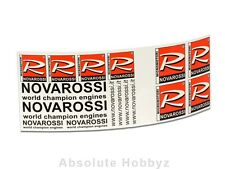 Novarossi Transparent Decal Sheet (260x95mm) - NVR6/56P