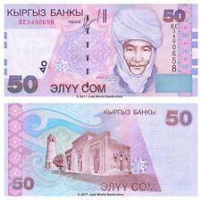 Kyrgyzstan 50 Som 2002 P-20 Banknotes UNC