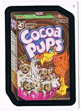 2006 Topps Wacky Packages Series 3 Cocoa Pups Cereal Trading Card 1 ANS3