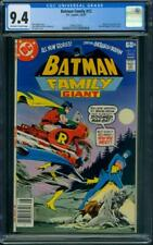 Batman Family #12 CGC 9.4 OW/WH