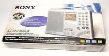 Sony ICF-SW7600GR Weltempfänger neuwertiger Zustand