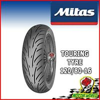 GOMMA PNEUMATICO MITAS TOURING FORCE SC 120 / 80 - 16 60P TL KYMCO PEOPLE