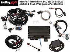 Holley Terminator X 550-905 EFI System 58x LS2 LS3 4.8 5.3 6.0 LS EV6 Injectors