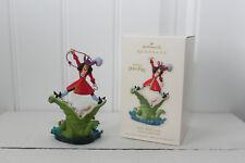 2008 Hallmark Captain Hook Disney Walt Disney Peter Pan Croc Christmas Ornament
