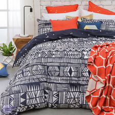 Montauk Duvet | Doona Quilt Cover Set | 6 piece | Tribal Inspired | Super King