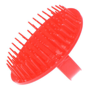 Round Soft Shower Shampoo Massage Brush Hair Washing Comb Scalp Head Massage SJ