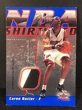 CARON BUTLER 2003-04 Fleer Focus NBA SHIRTIFIED Nameplate PATCH Ser #d /50 HEAT