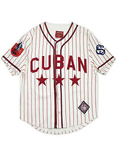 CUBAN STARS NEGRO LEAGUE BASEBALL JERSEY Vintage collection Jersey