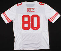 Jerry Rice Signed 49ers Nike Jersey Beckett COA
