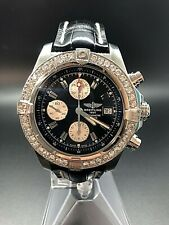 Breitling Avenger Skyland Steel Auto 45mm Mens Watch A1338012/B995 Selling As-Is