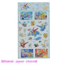 Pokemon Center Original Pikachu Riding On Latias & Latios Stickers Sheet