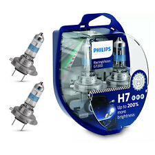 2x Philips H7 Racing Vision GT200 LAMPADE AUTO lampadine potenti +200% luce