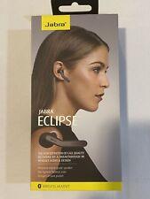New! Jabra Eclipse Wireless Headset - Black - Wireless - Bluetooth Brand New Nib