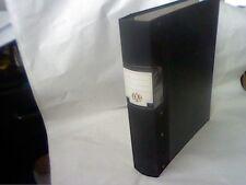 IXL STRONG 4 RING-CLIP FLO-FILE BLACK 60MM SPINE-SETTEN & DURWARD LTD-VINTAGE