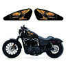 Harley Flame Eagle Oil/Gas Tank Decals Emblem Badges Stickers Papers Set
