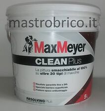 Pittura SMACCHIABILE CLEAN PLUS-100% su oltre 30 tipi di macchie BIANCO-MaxMeyer