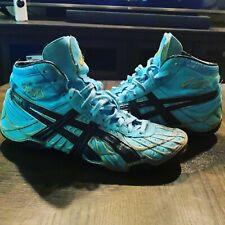 asics dan gable wrestling shoes size 9.5