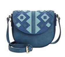 INC international concepts Marginy Saddle Bag Blue NWOT New (88) bx11