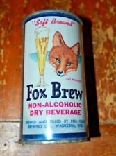 Fox Brew Non-Alcoholic Dry Beverage Flat Top Can