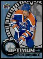 2016-17 Upper Deck Overtime Optimum Performance Wayne Gretzky . #OP-20