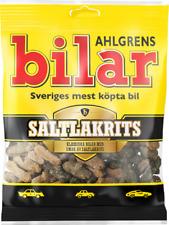 Ahlgrens Bilar Saltlakrits - Salty Licorice Marshmallow Cars Candy 100g, 20-Pack